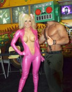 Jessica Nigri Hot Outfit Latex 001