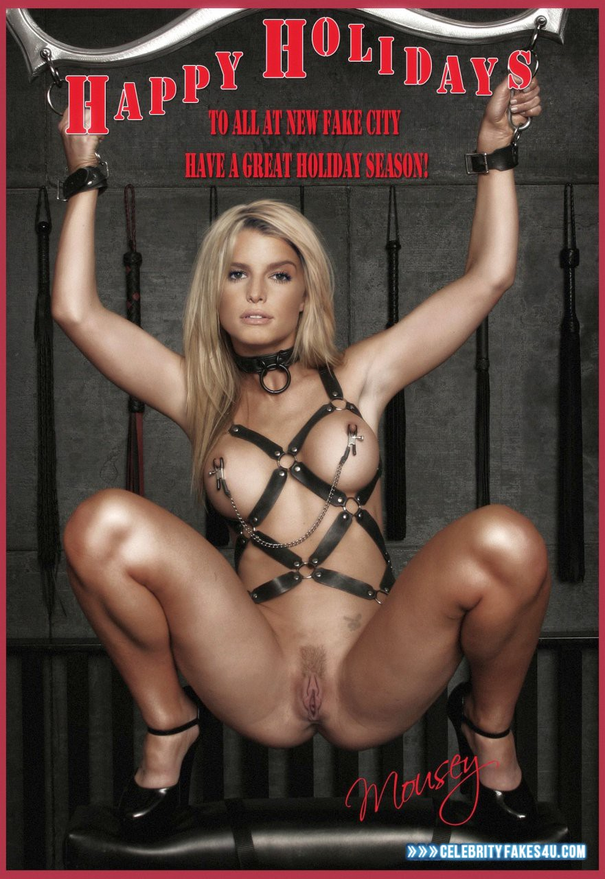 Jessica simpson bondage