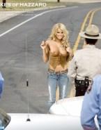 Jessica Simpson The Dukes Of Hazzard Undressing 001
