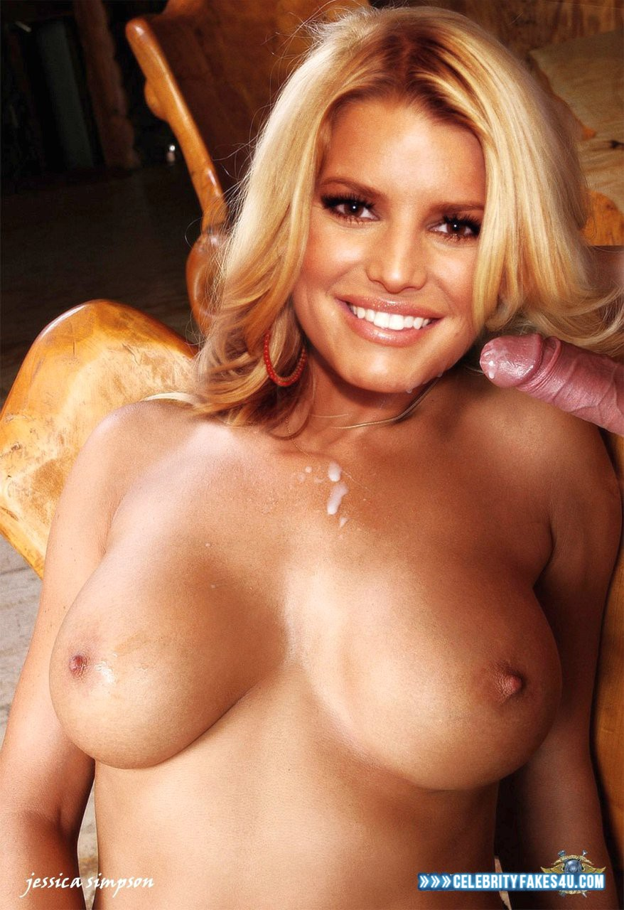 Nude young jessica simpson