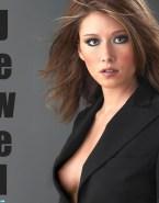 Jewel Staite Nipple Slip Sideboob Fake 001