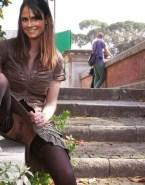 Jordana Brewster Upskirt Pussy Public Porn Fake 001