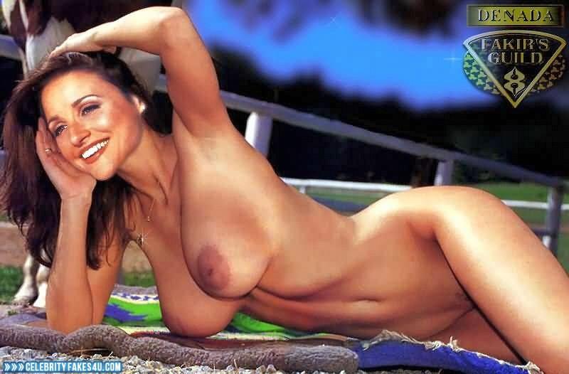 Julia Louis-Dreyfus  nackt