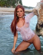 Julianne Moore Beach See Thru Porn 001
