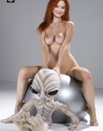 Karen Gillan Hot Tits Boobs Squeezed Nudes Fake 001