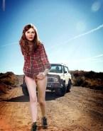Karen Gillan Legs No Panties Xxx Fake 001