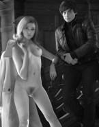 Karen Gillan Nude Body Doctor Who Fake 002