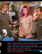 Kari Byron Boobs Mythbusters Fake 001