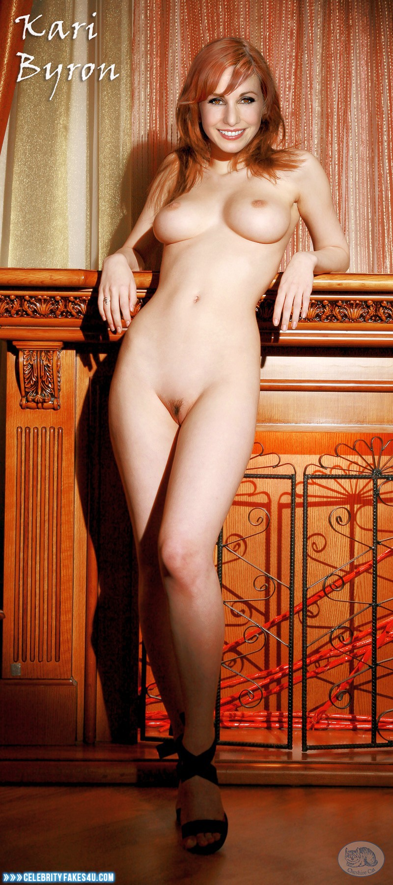 from Xzavier kari byron nude body