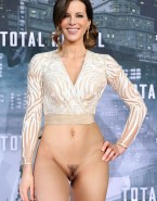 Kate Beckinsale Pantieless Red Carpet Porn 001
