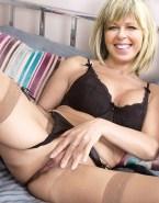 Kate Garraway No Panties Legs Spread Pussy 001
