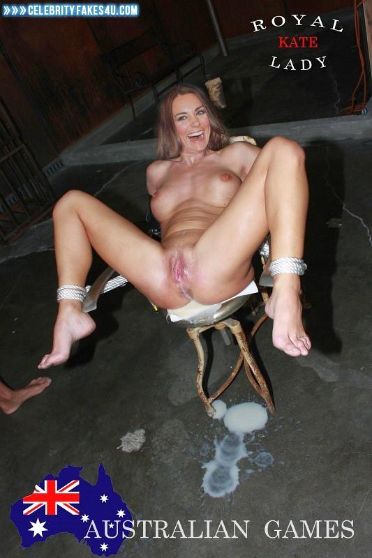 Kate Middleton Fake, BDSM, Bondage, Creampie, Cumshot, Feet, Legs Spread, Nude, Playboy, Pussy, Tits, Porn