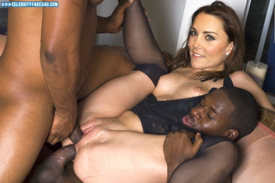 Kate Middleton Fake, Double-Penetration Sex, Interracial Sex, Sex, Porn