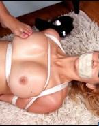 Kate Upton Nipples Pinched Bondage Porn 001