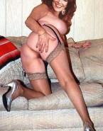 Katey Sagal Bending Over Ass Cheeks Spread 001