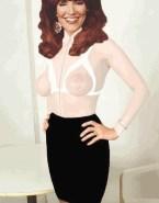 Katey Sagal See Thru Exposed Boobs Naked 001