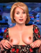 Katie Couric Titty Flash Playboy Magazine Nudes 001