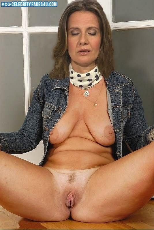 Katrin Huss Fake, Horny, Legs Spread, Tits, Porn