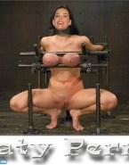 Katy Perry Bondage Squeezing Tits Fake 001
