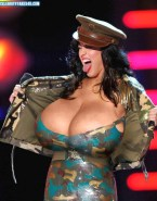 Katy Perry Huge Breasts Public Naked Fake 001