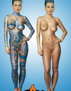 Katy Perry Naked Body Breasts Fake 010