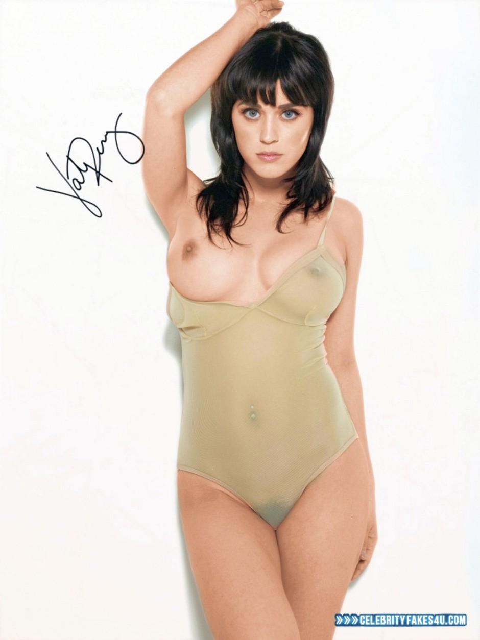 Katy Perry Fake, Nude, See-Thru, Tits, Porn
