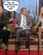 Kelly Ripa Vagina Upskirt Live With Regis And Kelly 001