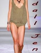 Kendall Jenner Nip Slip Public Naked Fake 001