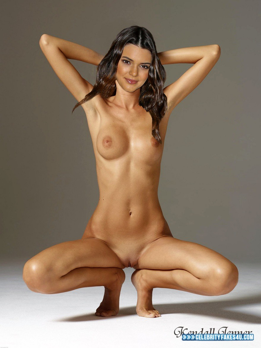 Kendall jenner fakes nude