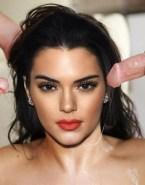 Kendall Jenner Group Facial Cumshot Sex Fake 001