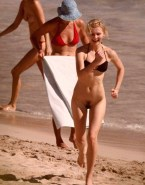Kirsten Dunst Beach Voyeur Naked 001