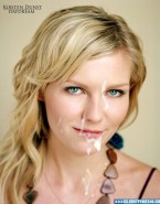 Kirsten Dunst Horny Facial Naked Fake 001