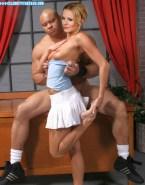 Kristen Bell Skirt Topless Porn 001