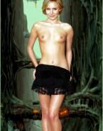 Kristen Bell Undressing Topless Naked 001