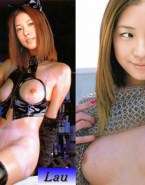 Kwon Boa Hot Outfit Latex Porn Fake 001