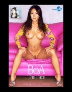 Kwon Boa Nude Body Big Breasts Fake 001