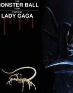 Lady Gaga Stockings No Panties Nude 001