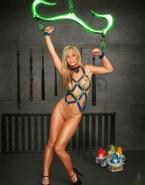 Laura Vandervoort Breast Torture Bondage Xxx Fake 001