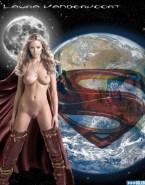 Laura Vandervoort Smallville Tv Series Naked Body Fake 002