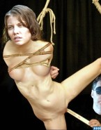 Lauren Cohan Breasts Bondage Porn Fake 001