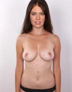 Lauren Cohan Panties Breasts Naked Fake 001