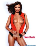 Lauren Cohan Tits Magazine Cover Nude Fake 001