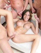 Lauren Cohan Gangbang Tight Pussy Nude Sex Fake 001