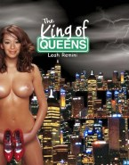 Leah Remini Busty The King Of Queens Nude 001