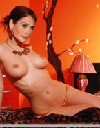 Lena Headey Nice Tits Topless 001