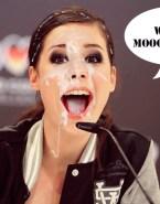 Lena Meyer Landrut Facial Cumshot - Fake 013