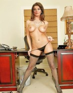 Letizia Ortiz Thong Pierced Nipples 001