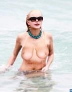 Lindsay Lohan Beach Voyeur 001