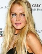 Lindsay Lohan Horny Facial Cumshot Nude 001