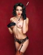 Lindsay Lohan Lingerie Nipples Pierced Nude 001